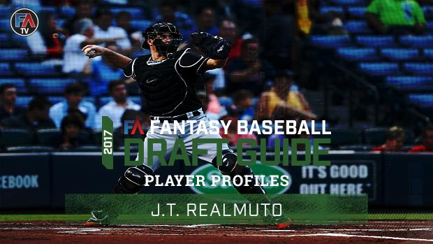 Video: 2017 Fantasy Baseball Player Profile: J.T. Realmuto Cover Image