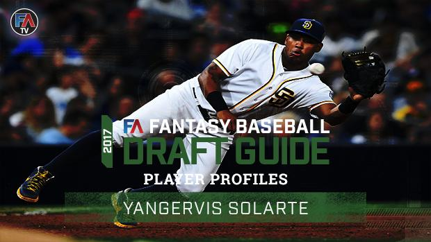 Video: 2017 Fantasy Baseball Player Profile: Yangervis Solarte Cover Image