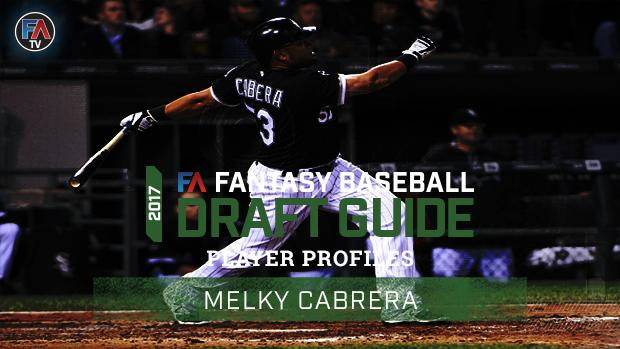 Video: 2017 Fantasy Baseball Player Profile: Melky Cabrera Cover Image