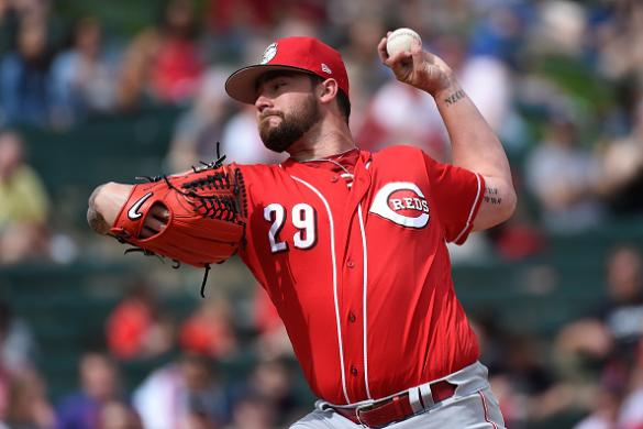 2017 Fantasy Late-Round Pitchers: Brandon Finnegan Cover Image