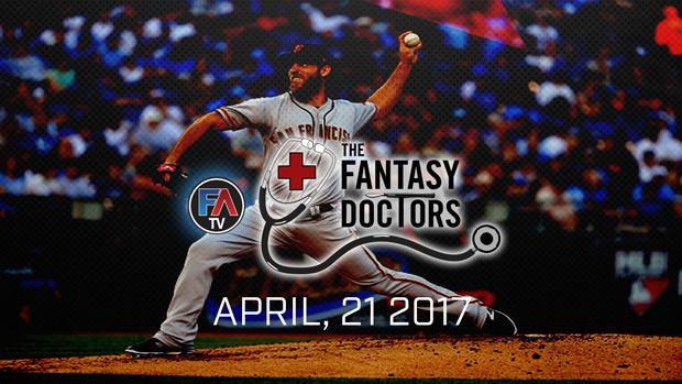 Video: The Fantasy Doctor- Madison Bumgarner Cover Image