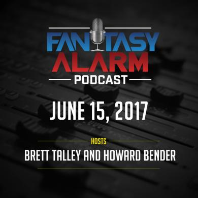 Fantasy Alarm Podcast: SP Targets Cover Image