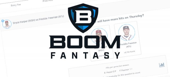 Boom Fantasy H2H DFS: June 22 Cover Image