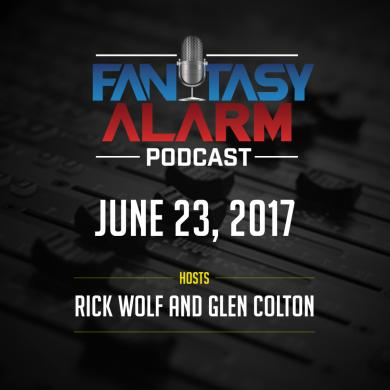 Fantasy Alarm Podcast: NFL SMART System Success Cover Image