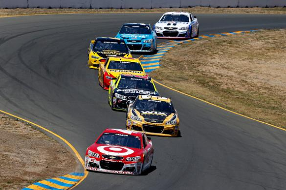NASCAR: Toyota Save Mart 350 Playbook & Lineups Cover Image