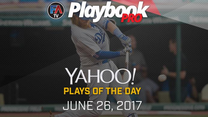 Video: DFS Hitting Plays of the Day - June 26, 2017 Cover Image