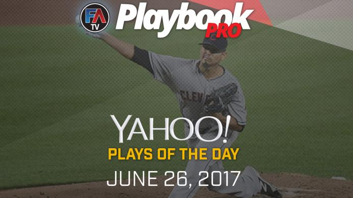 Video:DFS Pitching Plays of the Day - June 26, 2017 Cover Image