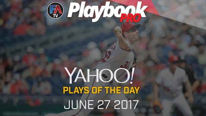 Video:DFS Pitching Plays of the Day - June 27, 2017 Cover Image