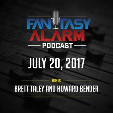 Fantasy Alarm Podcast: NFL Player Debate Cover Image