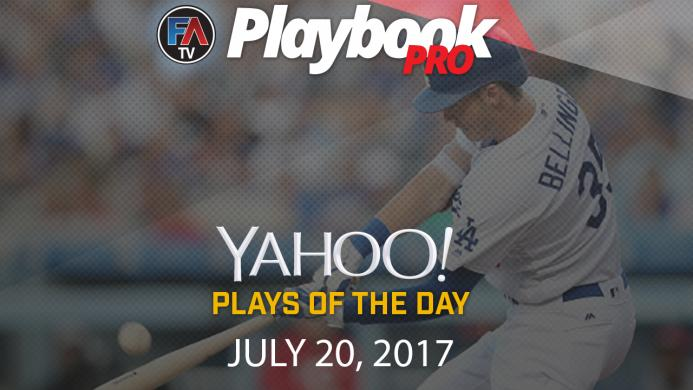 Video: DFS Hitting Plays of the Day: July 20 Cover Image