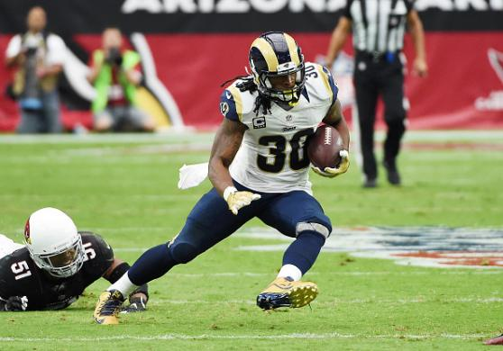 2017 Fantasy Football Running Backs: Todd Gurley Cover Image