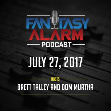 Fantasy Alarm Podcast: NFL Rookies Cover Image