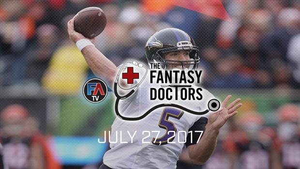 Video: The Fantasy Doctor - Joe Flacco Cover Image