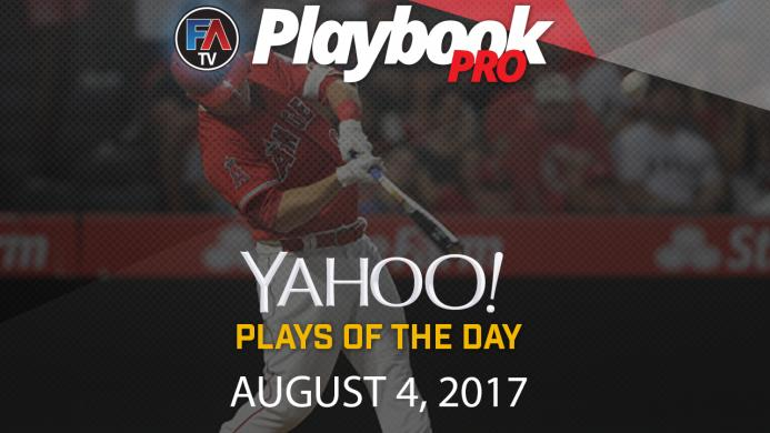 Video: DFS Hitting Plays of the Day: August 4 Cover Image