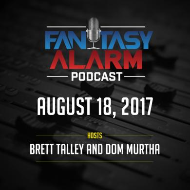 Fantasy Alarm Podcast: QB/RB Disagreements Cover Image