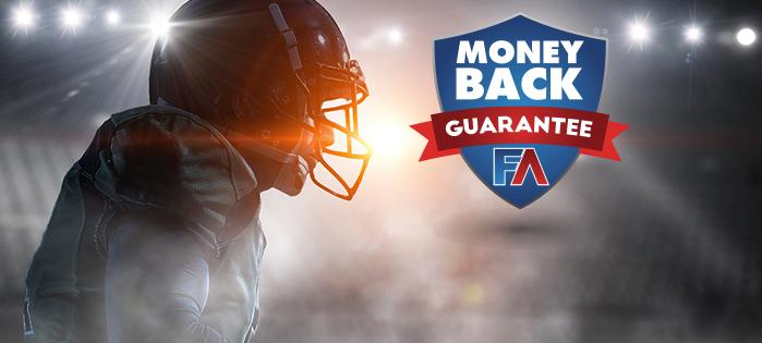 Money Back Guarantee from FantasyAlarm.com Cover Image