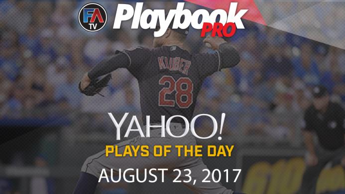 Video: DFS Pitching Plays of the Day: August 23 Cover Image