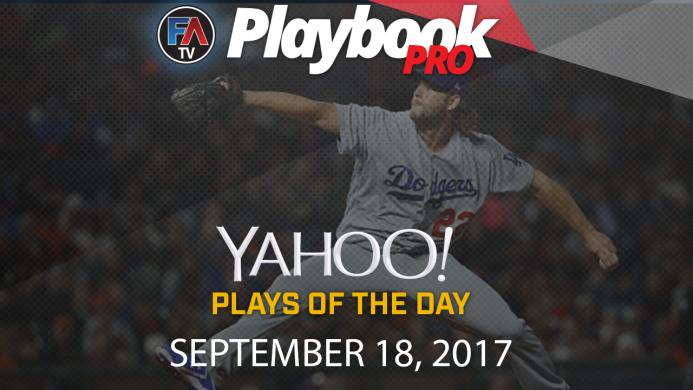 Video: DFS Pitching Plays of the Day: September 18 Cover Image