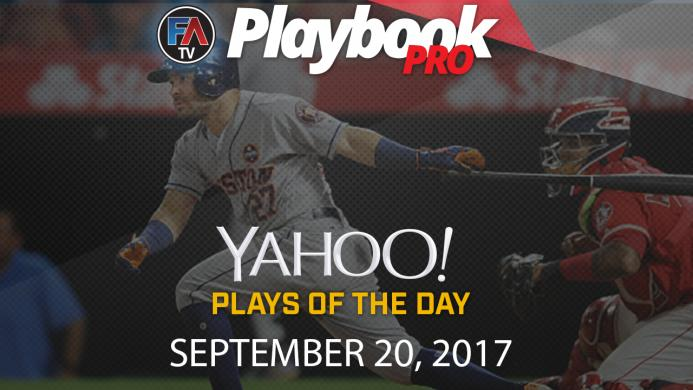 Video: DFS Hitting Plays of the Day: September 20 Cover Image