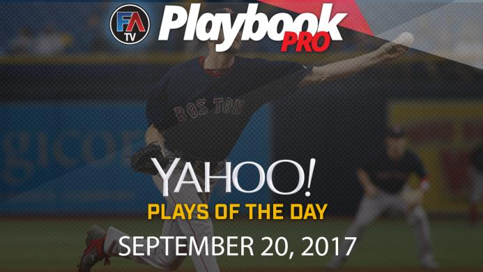 Video: DFS Pitching Plays of the Day: September 20 Cover Image