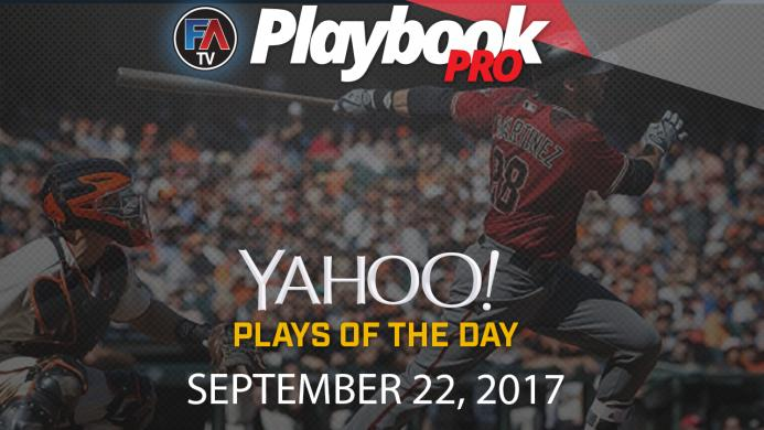 Video: DFS Hitting Plays of the Day: September 22 Cover Image