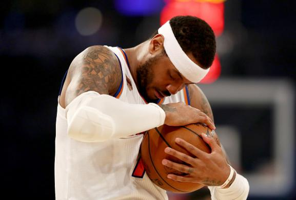 2017-18 Fantasy Basketball: Impact of Carmelo Anthony Trade Cover Image