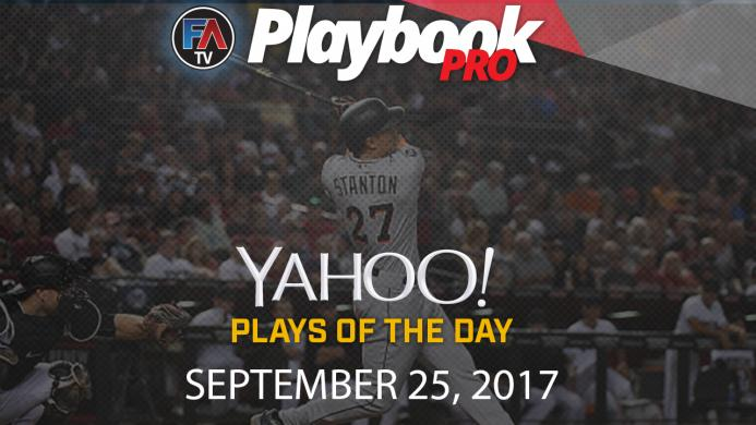 Video: DFS Hitting Plays of the Day: September 25 Cover Image