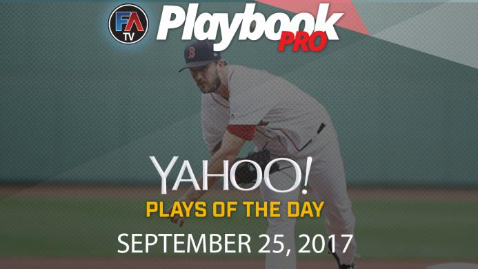 Video: DFS Pitching Plays of the Day: September 25 Cover Image