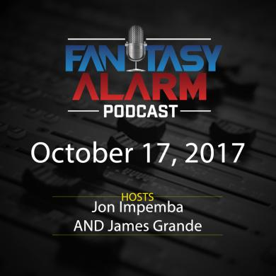 2017 Fantasy Alarm NBA DFS Podcast: October 17 Cover Image