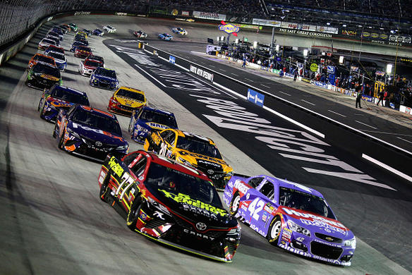 Cup race at Bristol postponed until 1 pm ET on Monday