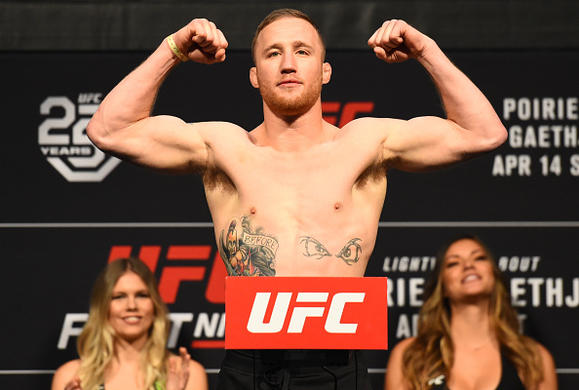 Justin Gaethje: 'I'm Content… That Was the Best I've Ever Felt'
