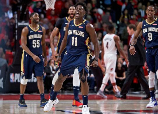 Portland Trail Blazers at New Orleans Pelicans Odds Preview 04/21/18