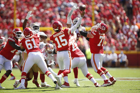 Chiefs Capitalized After Broncos Ditched The Ground Game