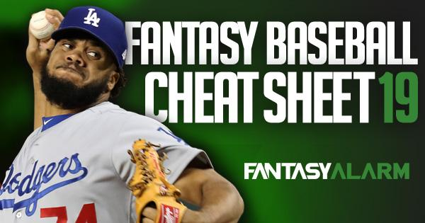 photo relating to Printable Fantasy Baseball Rankings identify 2019 MLB Draft Lead: The Supreme Cheat Sheet Myth Alarm