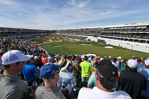 Mickelson off to sluggish start at Waste Management Phoenix Open