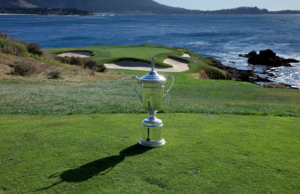 Rose leads by two at Pebble Beach, Woods hanging in there