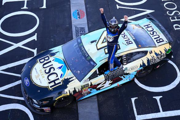Elliott finishes ninth in New Hampshire, stays top 5 in series standings