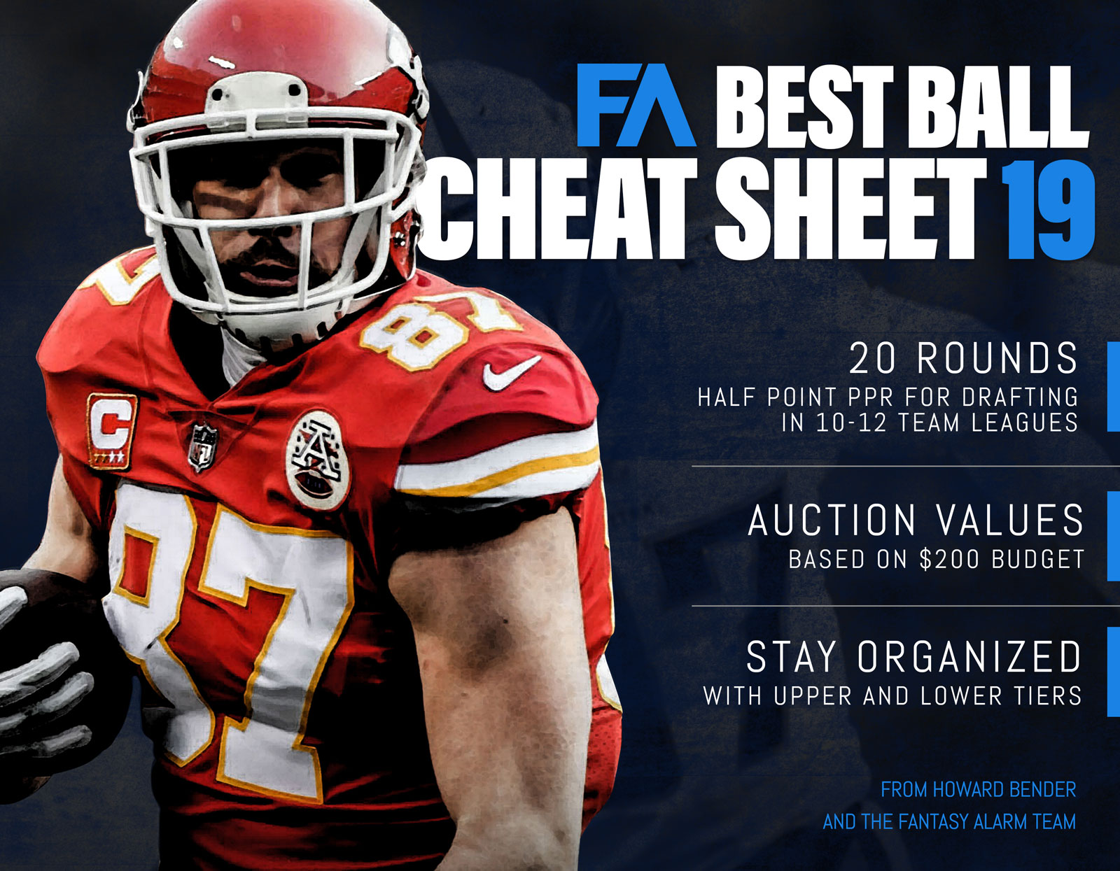 NFL 2019 Best Ball Cheat Sheet Cover