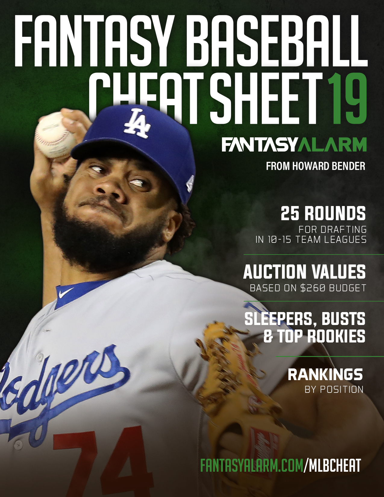 MLB 2019 Cheat Sheet cover
