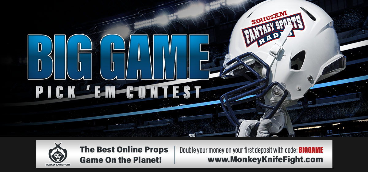2019 SiriusXM Fantasy Sports Radio Big Game Contest