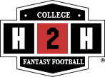 Win $5,000 picking REAL College Football Players in the H2H Salary Cap College Football. $100M payroll.  Choose 10 players. Dominate the competition by changing your team every week. Don't miss the chance to watch your favorite players do battle on Saturdays.