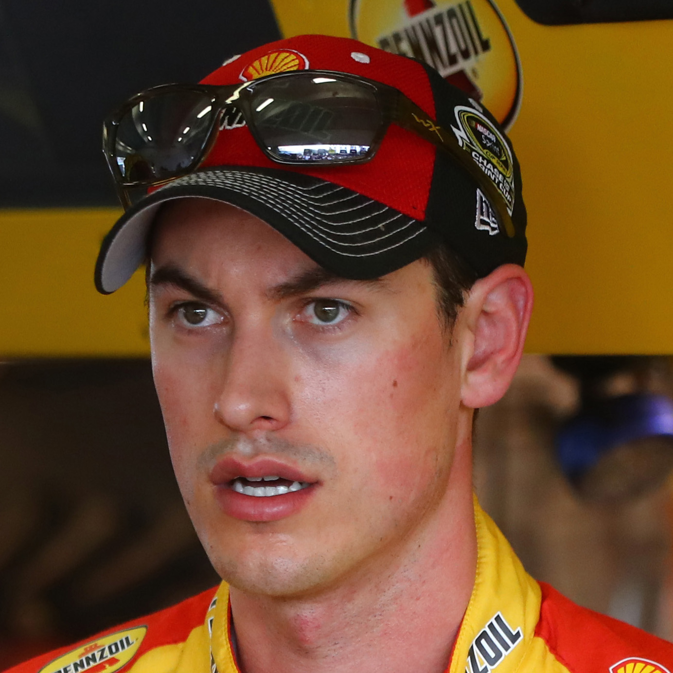 Joey Logano Headshot