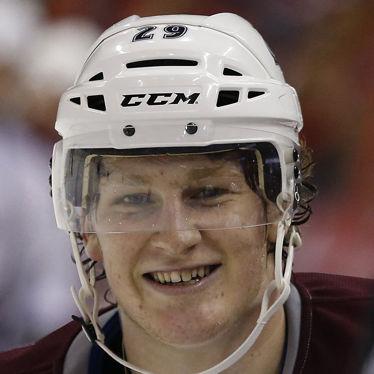 Nathan MacKinnon Headshot