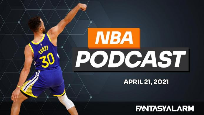 NBA DFS Podcast - Steph Curry the MVP