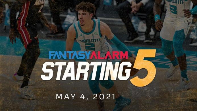 NBA DFS Starting Five: May 4