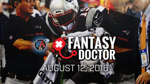Video: Fantasy Doctor - August 12, 2016