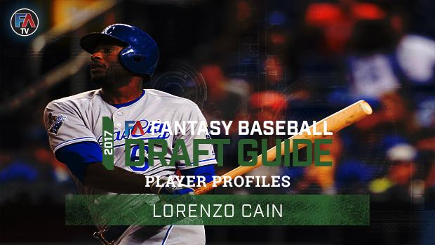 Video: 2017 Fantasy Baseball Player Profile: Lorenzo Cain