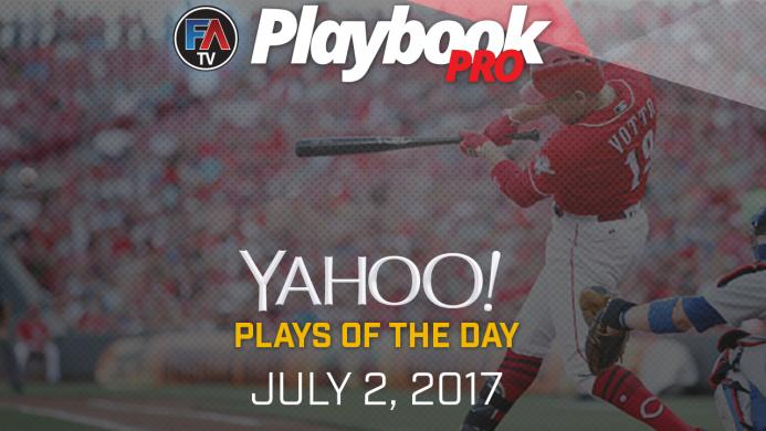 Video:DFS Hitting Plays of the Day - July 2, 2017