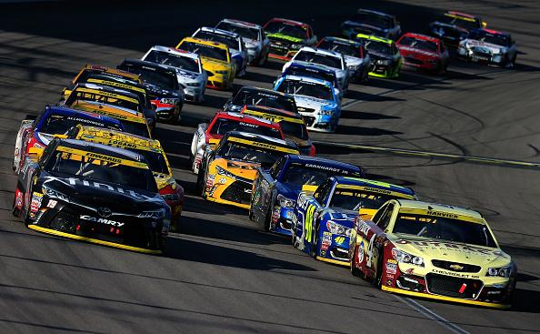 DFS NASCAR: Hollywood Casino 400 Playbook & Lineups Cover Image