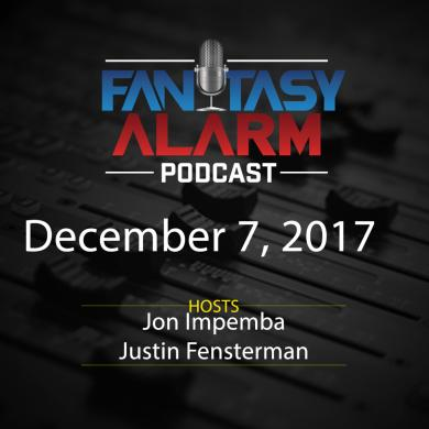 2017 Fantasy Alarm Fantasy NBA Podcast: December 7 Cover Image